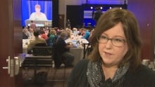 BCTF AGM in Vancouver - March 15, 2014 - VSB chair Pattie Bacchus