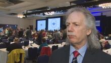 BCTF AGM in Vancouver - March 15, 2014 - president Jim Iker