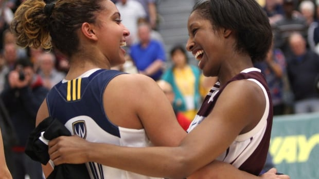 The University of Windsor Lancers women's basketball team are the only team to ever to win four Canadian Interuniversity Sport titles in a row.