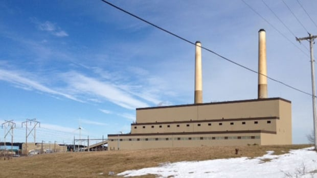 There was a fire in one of the silos at the Lingan power plant this morning.