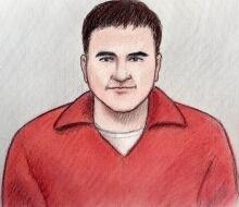 Kevin Martin court sketch