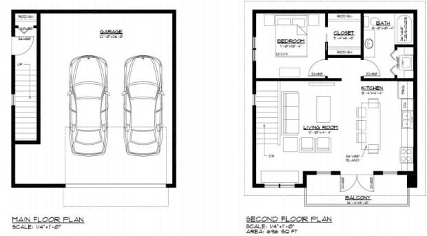 Here 39 s a peek at the newest 39 over the garage 39 laneway for Studio above garage plans