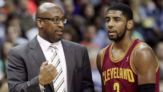 Cleveland Cavaliers' Kyrie Irving will miss at least two weeks with a strained tendon in his left biceps.