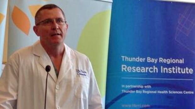 The orthopedic surgeons at Thunder Bay Regional Health Sciences Centre say they believe in their research goals so much they'll help pay for it themselves. Orthopedics head Dr. David Puskas says the surgeons are choosing research that will directly help patients in the Northwest.