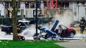 Seattle helicopter crash Komo