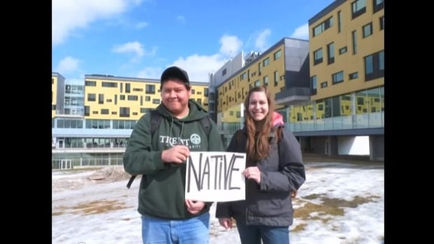 Four indigenous studies students at Trent University in Peterborough, ON came up with a new rendition of the national anthem that they say recognizes indigenous rights to the land.