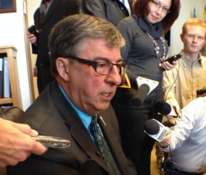 Ken Krawetz, Saskatchewan Finance Minister  skpic