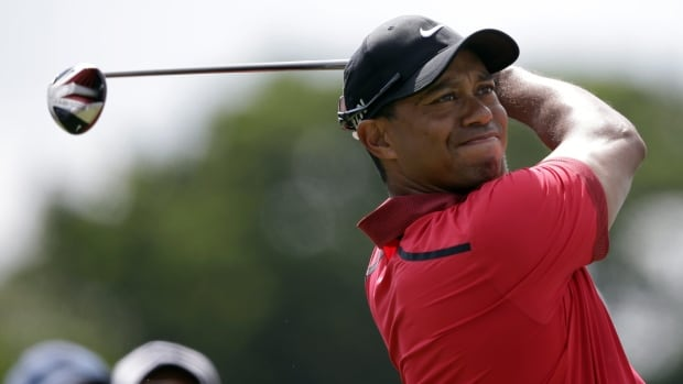 Tiger Woods, seen on March 9, hasn't won a major since 2008.