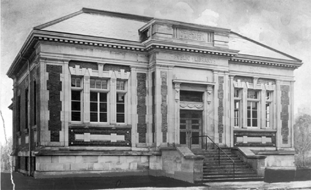 Carnegie Library on Queen West