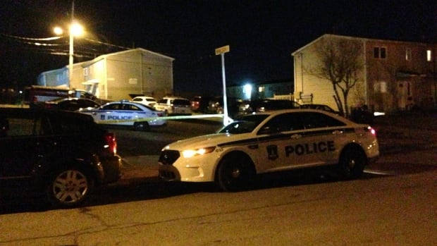 Police said they were looking for two suspects after a shooting Wednesday night in Dartmouth.