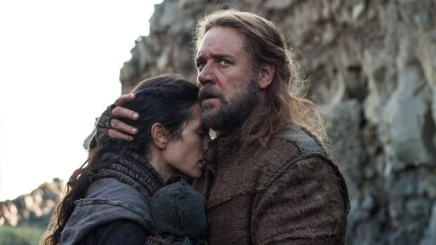 Russell Crowe stars in the upcoming epic Noah, with Jennifer Connelly.