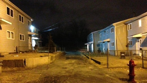 Bras Dor Lane in Dartmouth was the scene of a shooting on Wednesday night and a series of arrests early Thursday morning.