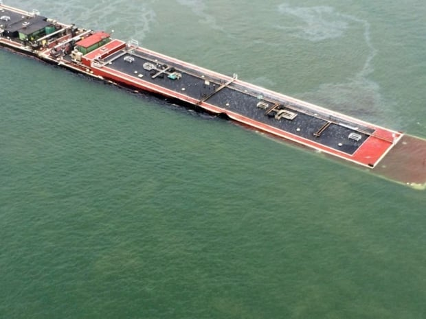 Texas Oil Barge