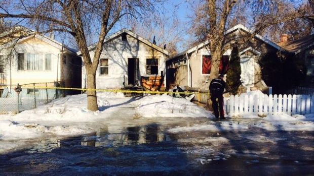 The death of a man whose body was found following a house fire is being investigated as a homicide.