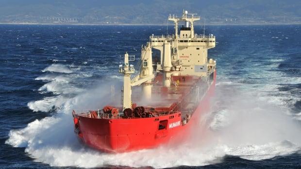 Fednav's latest icebreaker en route to the Arctic