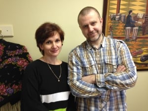 Victoria Volkanova and Vitaly Korneyev