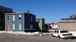 Saint John police investigate a homicide on Carmarthen Street