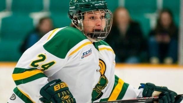 Shannon MacAulay will play her first hockey for Canada's under-22 team on Thursday.
