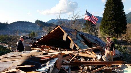 Washington state mudslide: 14 dead, 176 reported missing