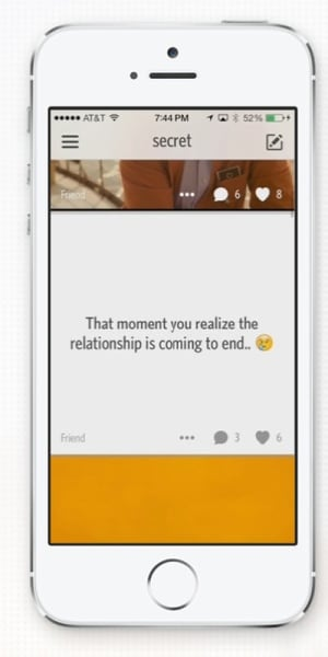 Secret screenshot