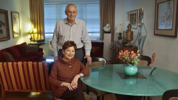 Victims of Bernie Madoff's massive Ponzi scheme included Second World War veteran Morton Chalek, 91, standing, and his friend Fran Reiss, 79, a retired educator. They are among a legion of former investors still struggling to move on after seeing their life savings go up in flames.