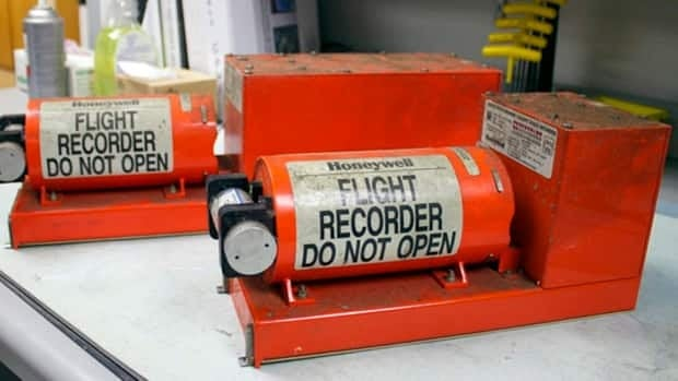 Searching for flight data recorder