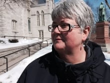 Ginette Chaumont, former employee at Archdiocese of Ottawa