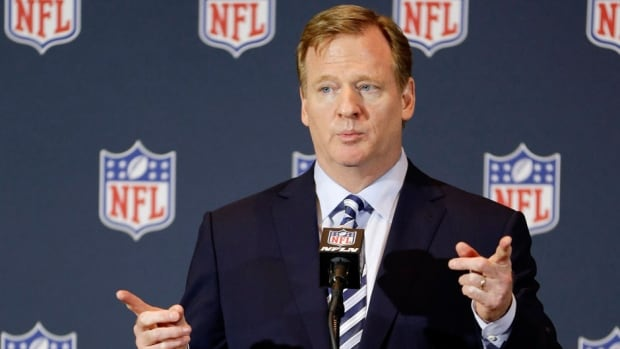 Half the U.S. Senate is putting the heat on NFL commissioner Roger Goodell, saying he should formally push to rename the Redskins.