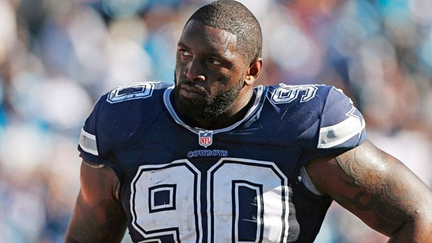 Former Dallas Cowboys defensive tackle  Jay Ratliff was sidelined last season while recovering from a sports hernia that required surgery.
