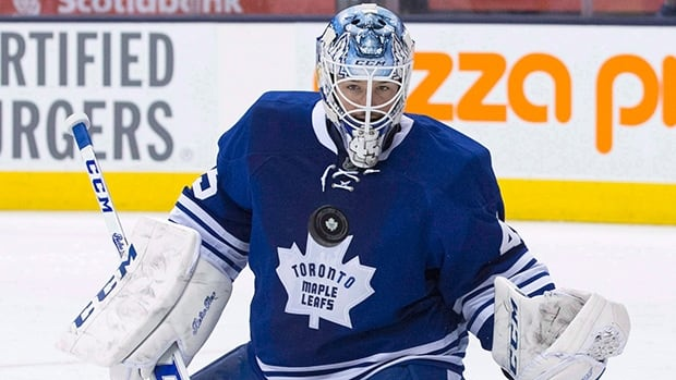 Maple Leafs goalie Jonathan Bernier has had sports hernia surgery that forced him to miss five games in March but won't keep him away from training camp in September. Bernier won 26 games in his first season with Toronto, sporting a 2.68 GAA and .923 save percentage.