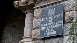 Newfoundland Labrador Supreme Court sign CBC