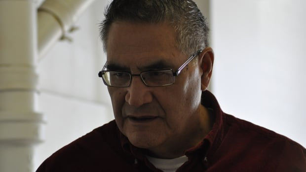 """Louis Lapatack attended residential school for 13 years.  """"You had to be tough to survive,"""" Lapatack said."""