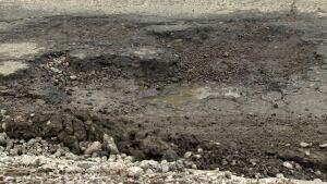 Pothole Calgary