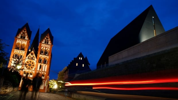 Bishop Franz-Peter Tebartz-van Elst's spent $42 million US on his ultra-luxurious residence, next to Limburg Cathedral.