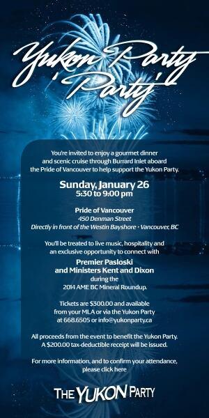 Yukon Party party e-vite