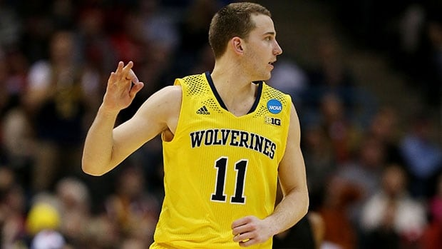 Three-point sharpshooter Nik Stauskas has helped power Michigan into the Sweet Sixteen for the second straight year.