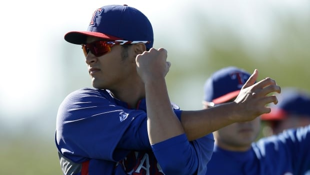 Texas starter Yu Darvish has no structural damage to his neck, but will begin the season on the disabled list for the Rangers.