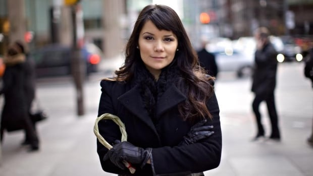 Gabrielle Scrimshaw is the president and co-founder of the Aboriginal Professional Association of Canada.