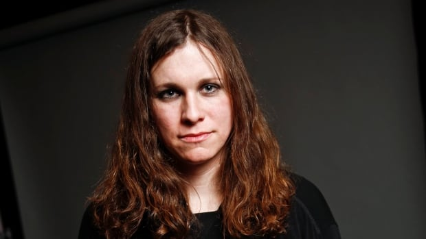 Laura Jane Grace, formerly known as Tom Gabel, of the band Against Me!, in New York.