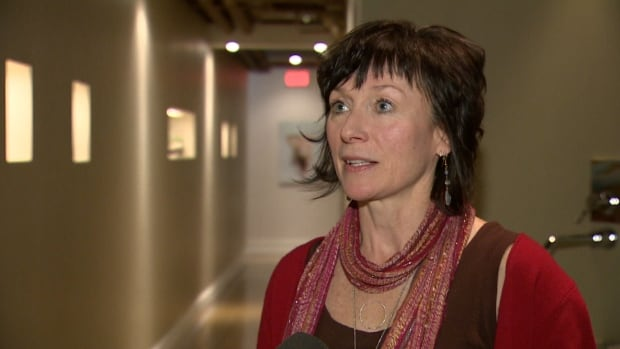 Bodhi Tree Yoga Centre owner Catherine Nelson-Reid says it's not neighbourly of local residents to have petitioned for permit-only parking.