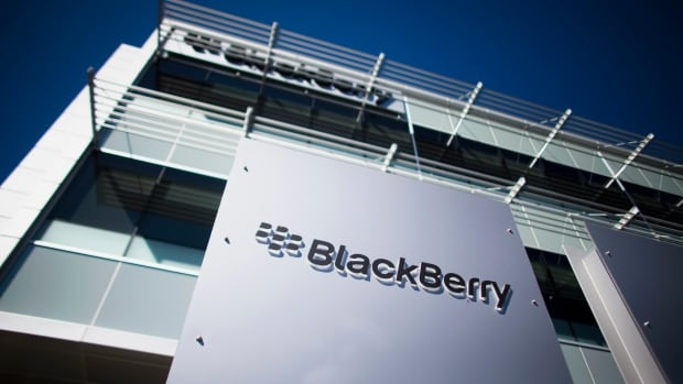 BlackBerry said Monday is swelling more than three million square feet of space and vacant lands to Spear Street Capital.