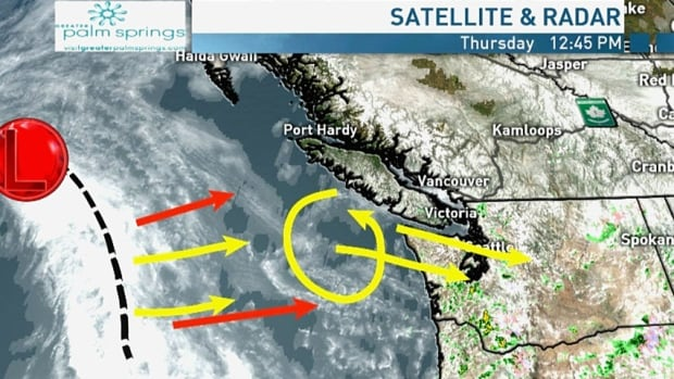 Metro Vancouver showers will give way to a rainy Friday