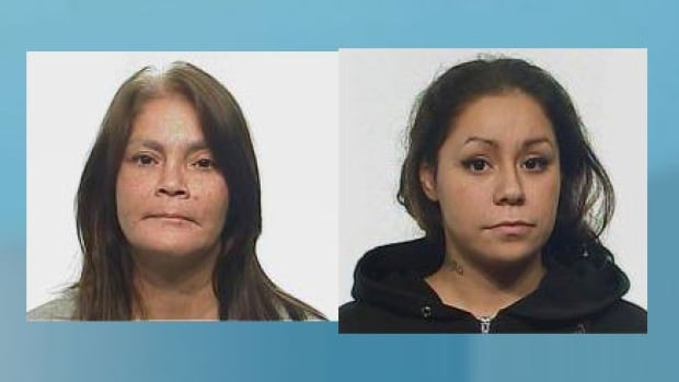 Police in Regina have charged Rosalyn Faye Wilm, 41 (l) and her daughter Sarah Dawn Louisa Wilm, 22, with second-degree murder.