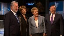 TVA debate leaders photo