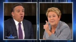 quebec election debate marois legault