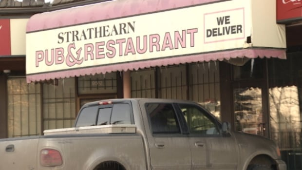 The Strathearn Pub at 95th Avenue and 87 Street has had its liquor licence suspended by the AGLC after the owners were charged with drug trafficking offences.