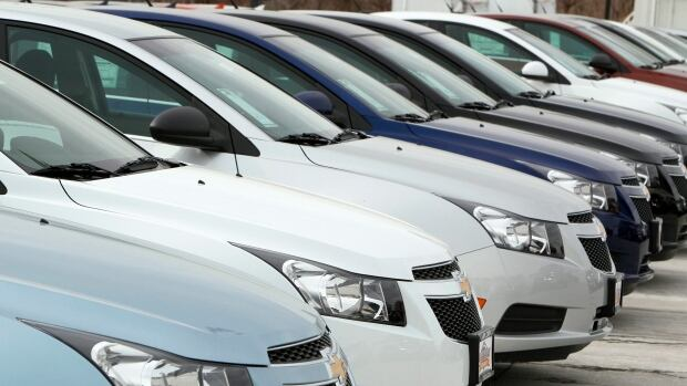General Motors of Canada says it just had its best May in five years but industry figures show its sales trailed Ford and Chrysler.