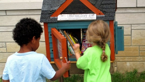 The idea for the Sioux Narrows-Nestor Falls little free libraries come from the 'Little Free Library' organization, which encourages communities to start a program to promote literacy and build a sense of community.