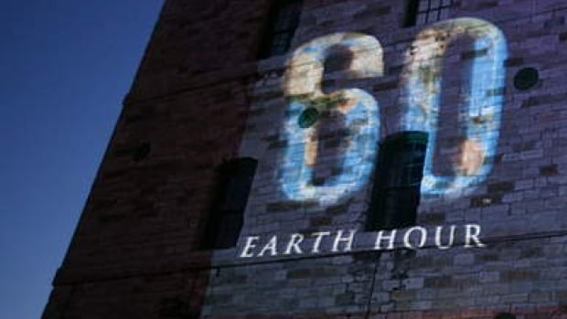 Celebrate Earth Hour in Toronto.