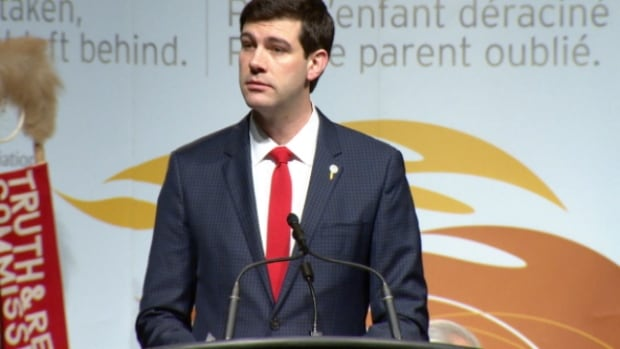 Mayor Don Iveson proclaimed March 2014 to March 2015 as the year of reconciliation in Edmonton.